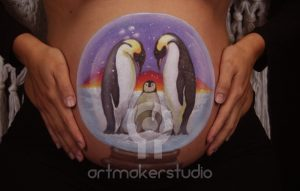 Belly Paint Pingüinos.jpg
